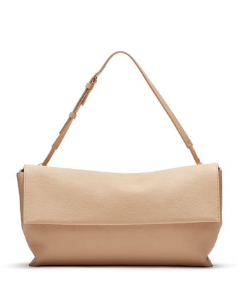 Large East-West Belt Bag, Beige