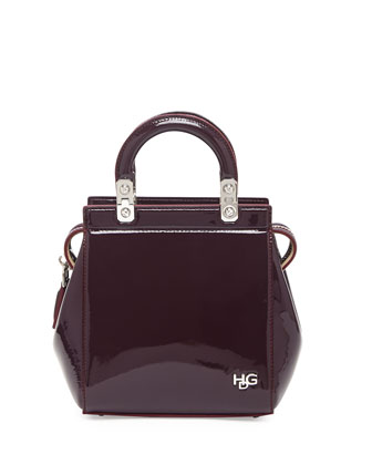 HDG Mini Top-Handle Crossbody Bag, Bordeaux
