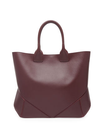 Easy Origami Tote Bag, Bordeaux