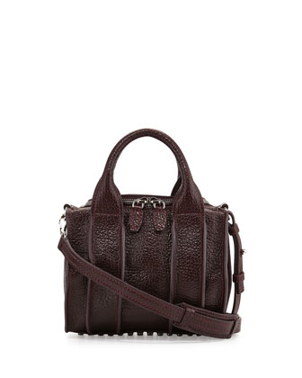 Inside-Out Rockie Small Crossbody Satchel Bag, Supernova Purple