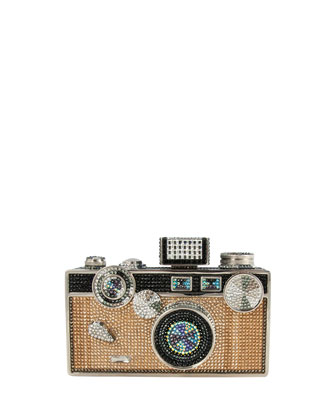 Camera Crystal Minaudiere, Jet Multi