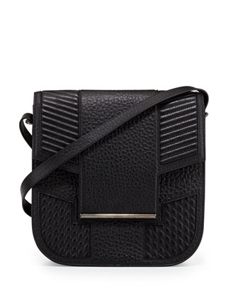 Knox Leather Saddle Bag, Black