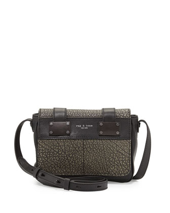 Pilot Mini Crossbody Bag, Iron Gray