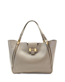 Sedgwick Medium Zip Tote Bag, Taupe