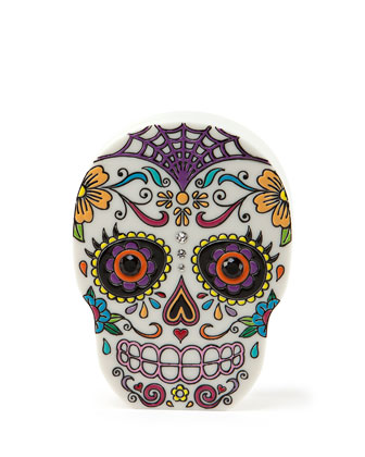 Calavera Skull Clutch Bag
