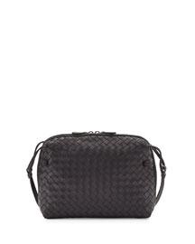Veneta Small Messenger Bag, Navy