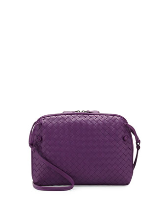 Veneta Messenger Bag, Purple