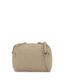 Veneta Small Crossbody Bag, Beige