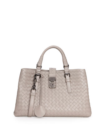 Roma Leggero Small Tote Bag, Beige