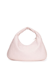 Veneta Large Hobo Bag, Pale Pink