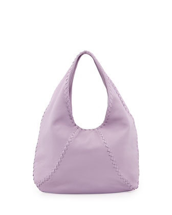 Cervo Large Hobo Bag, Light Purple