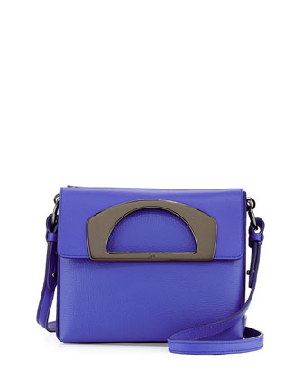 Passage Mini Crossbody Bag, Periwinkle Blue