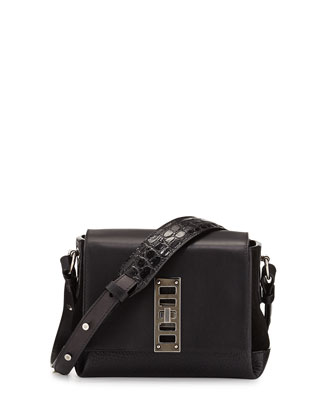 Elliot Mini Shoulder Bag, Black