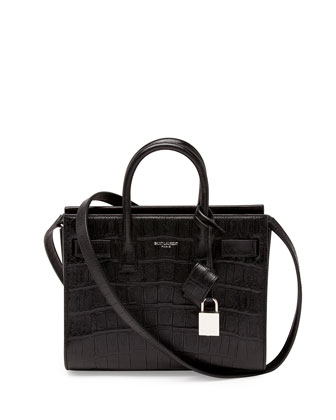 Sac de Jour Mini Crossbody Bag, Black