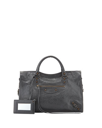 Classic City Bag, Dark Gray