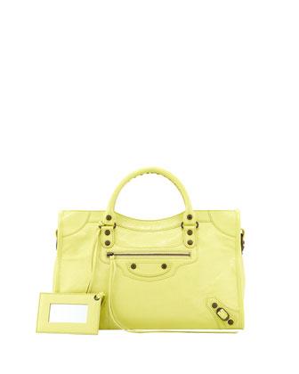 Classic City Bag, Citrus Green