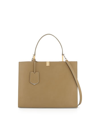 Le Dix Cartable Tote Bag, Khaki