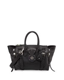 Ricky 27 Soft Satchel Bag, Black
