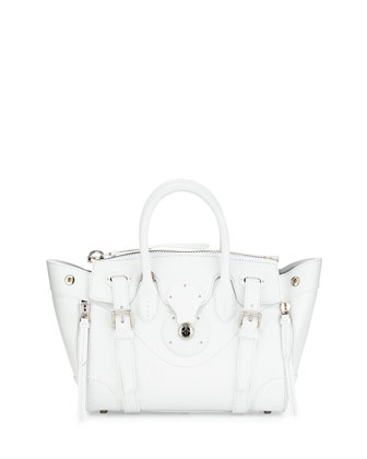 Ricky 27 Soft Satchel Bag, White
