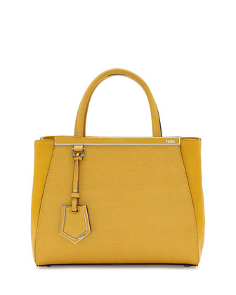 2Jours Mini Shopping Tote, Yellow