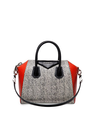 Antigona Medium Elaphe Satchel Bag, Multi