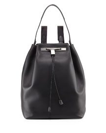 Backpack 11 Leather Bag, Black