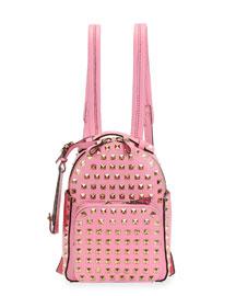 Rockstud Mini Backpack, Pink