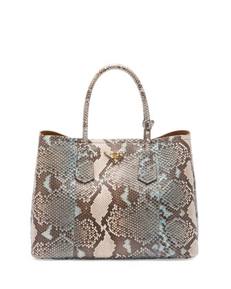 Python Double Bag, Blue/Multi (Lago)
