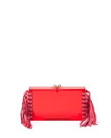 Fringe Pandora Clutch Bag