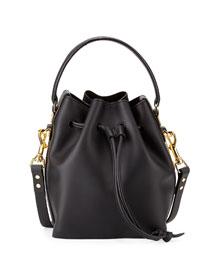 Fleetwood Small Bucket Bag, Black