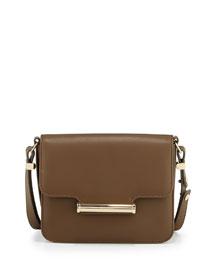 Diane Small Flap Crossbody Bag, Army