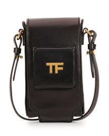 TF Leather Camera Case, Black