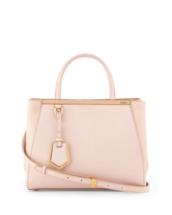2Jours Petite Shopping Tote Bag, Light Pink