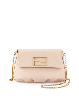 Fendista Pochette Crossbody Bag, Light Pink