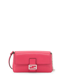 Micro Fendista Shoulder Bag, Pink