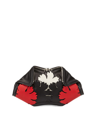 Demanta Small Cutout Clutch Bag