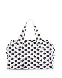 Large Rectangular Dotted Tote Bag