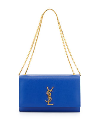 Monogramme Medium Chain Shoulder Bag, Blue