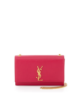 Monogramme Medium Chain Shoulder Bag, Fuchsia