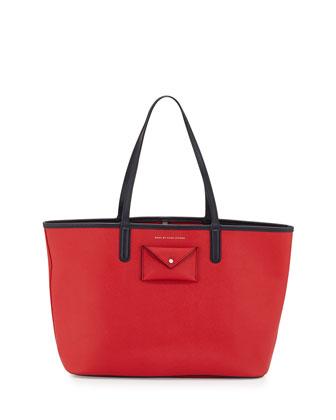 Metropolitote Tote Bag, Rosey Red