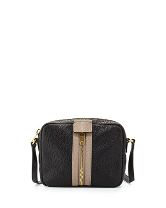 Roadster Zip Crossbody Bag, Black Multi