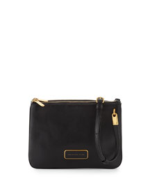 Ligero Double Percy Crossbody Bag, Black