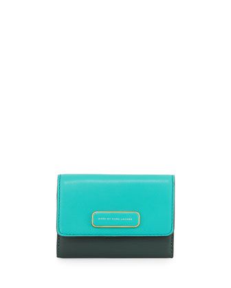 Ligero New Billfold Wallet, Winter Green/Multi