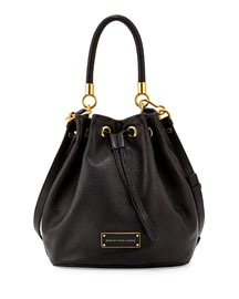 Too Hot to Handle Bucket Bag, Black
