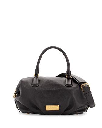New Q Legend Tote Bag, Black