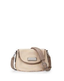 New Q Natasha Mini Crossbody Bag, Cement