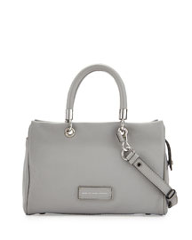 Too Hot to Handle Satchel Bag, Storm Cloud