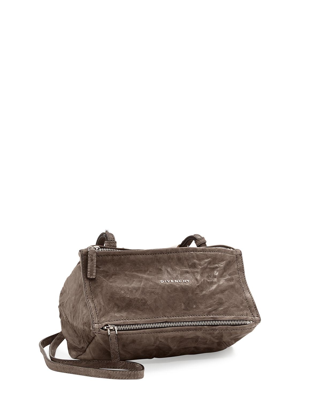 Givenchy Pandora Mini Pepe Crossbody Bag, Charcoal (Grey)