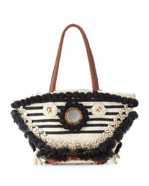 Bardot Medium Tuk Tuk Beach Tote Bag