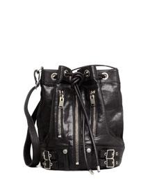 Rider Bucket Bag, Black